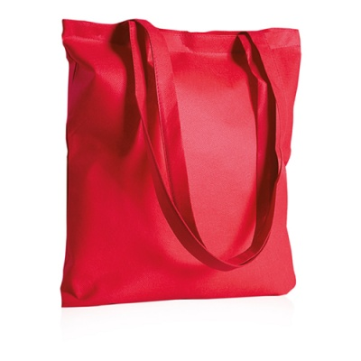 Borsa shopping TNT colorato stampa 1 colore incluso