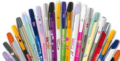 Penne Bic Media Clic stampa 1 colore inclusa